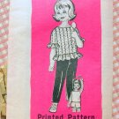 Toddlers Pants, Shorts and Top Vintage Mail Order Sewing Pattern 9073