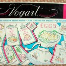 Vintage Vogart Embroidery Craft Transfer Pattern 259 Kitchen Motifs