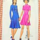 Misses 70s Knit Dress Vintage Sewing Pattern Simplicity 9963