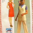 Seventies Dress, Tunic and Pants Vintage Sewing Pattern Simplicity 9461