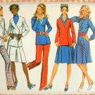 Misses Menswear Separates 70s Vintage Pattern Simplicity 9868