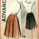 Misses Pleated Skirt Vintage Advance 9499 Sewing Pattern