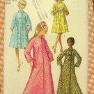 "Misses Robe Vintage Sewing Pattern Simplicity 9074 32.5"" Bust"