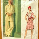 Vintage Vogue Paris Original Sewing Pattern 2717 Dior Dress Tunic and Pants
