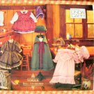 "Early American 18"" Doll Clothes Sewing Pattern Vogue 8337"