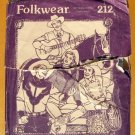 Five Frontier Shirts Sewing Pattern Folkwear 212
