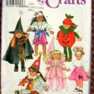"""18"""" Doll Costumes Vintage 90s Sewing Pattern Simplicity 7790"""