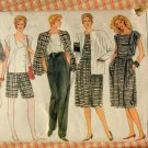 Mix and Match Wardrobe Vintage 80s Vogue Sewing Pattern 8617