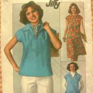 Misses Top and Skirt Vintage Pattern Simplicity 7963