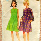 Misses Tent Dress Vintage Sewing Pattern Butterick 4239