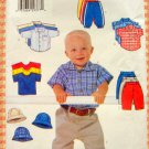 Baby Boy Wardrobe Vintage Sewing Pattern  Butterick 6030  Newborn to 6 mos.