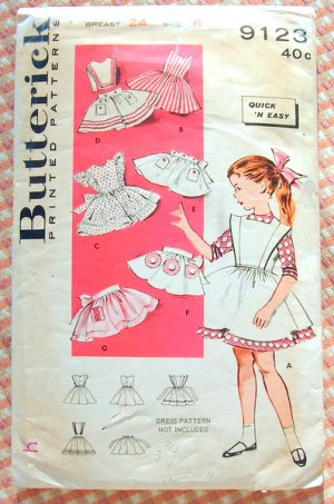 Vintage Apron Patterns - About Vintage Apron Pattern Companies