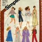 "11 1/2"" Fashion Doll Clothes Vintage 80s Sewing Pattern Simplicity 5637"
