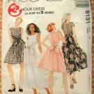 Vintage 90s Dress McCall's 8131 Sewing Pattern