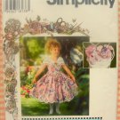 Daisy Kingdom Dress, Hat, Purse and Bow Simplicity 0625 Sewing Pattern