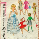 "12"" Tammy Doll Wardrobe Vintage Sixties Sewing Pattern Simplicity 5214"