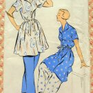 Misses Lounging Pajamas Vintage New York Sewing Pattern 1028