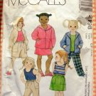 Girl's Tank Top, Hoodie, Skirt and Shorts McCall's 2198 Sewing Pattern