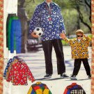 Father and Son Matching Casual Pants and Top Butterick 5709 Sewing Pattern