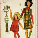 Girl's Jumpers Vintage 60s Pattern Simplicity 6704