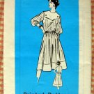 Yoke Collar Dress Vintage 70s Mail Order Sewing Pattern 9103