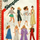 "80s 11.5""  Fashion Doll Clothes Simplicity Sewing Pattern 6369"