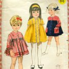 Butterick 3794 Vintage Sewing Pattern Toddler Dress