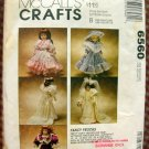 Victorian Porcelain Doll Clothes McCalls Sewing Pattern 6560