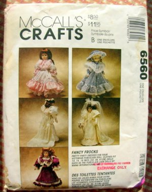 McCalls Crafts Pattern Victorian Delights Fan Sachet