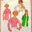 Misses Raglan Shirts Vintage 70s Pattern Simplicity 7912
