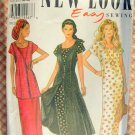 Misses Ankle-Length Dress With Waistcoat Vintage 90s New Look Sewing Pattern 6230