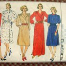 Misses Tailored Evening Dress Butterick 4600 Vintage Sewing Pattern
