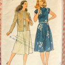 Misses Jacket & Dress Butterick 3517 Vintage Sewing Pattern