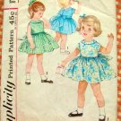 Simplicity 4831 Toddler Party Dress Sewing Pattern