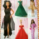 "11.5"" Fashion  Doll Gowns Uncut Sewing Pattern Butterick 5865"