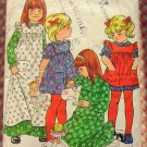 Girl's Dress and Pinafore Butterick 5171 Vintage Sewing Pattern