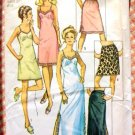 Slip and Half Slip Simplicity 9115 Vintage 70s Sewing Pattern