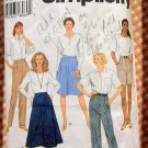Misses Pants, Shorts, Skirts Sewing Pattern Simplicity 9589