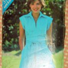 Vintage 70s Pattern Misses Belted Dress Butterick See & Sew 3197