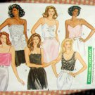Vintage 80s Pattern Misses Camisole Tops Butterick 3031