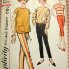 Misses Overblouse and Pants Vintage Sewing Pattern Simplicity 2814