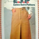 Simplicity 9096 Vintage 70s Pleated Skirt Sewing Pattern