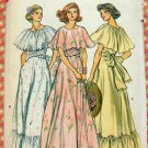 70s Bridesmaid or Evening Dress Vintage Sewing Pattern Vogue 9731