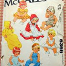 "McCall's Vintage 70s Sewing Pattern 6366 15"" Baby Doll's Wardrobe"