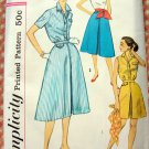 Rockabilly Blouses and Culottes Vintage 50s Pattern Simplicity 2509