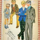 Butterick 5411 Vintage Sewing Pattern Boys' Jacket, Vest, Pants and Shorts