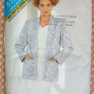 Vintage 80s Pattern Misses Top, Skirt and Jacket Butterick See & Sew 5575