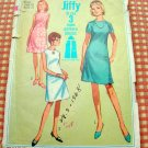 Misses A-line Dress Vintage 60s Pattern Simplicity 7072