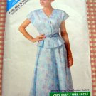 Vintage 80s Pattern Misses Petite Top and Skirt Butterick See & Sew 4170