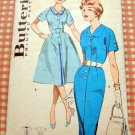 Vintage 60s Sewing Pattern Wiggle or Full Skirted Dress Butterick 9379